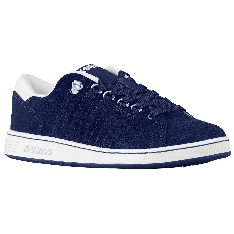 K-Swiss Lozan - Boys' Grade School - Casual - Shoes - Navy/