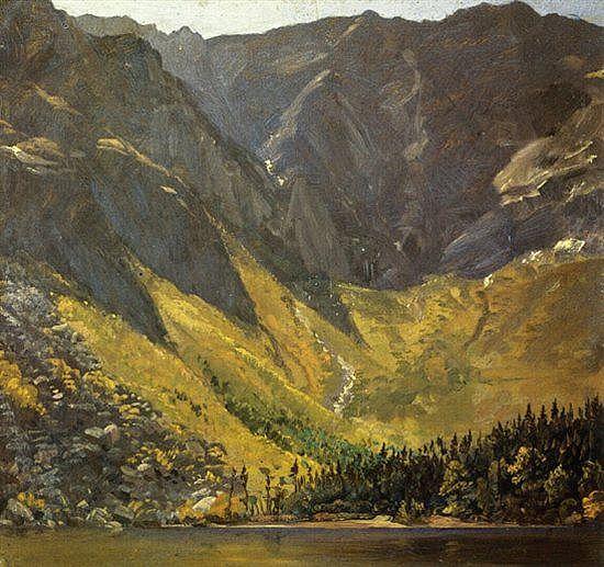 Frederic Edwin Church 1826 1900 Great Basin Mount Katahdin