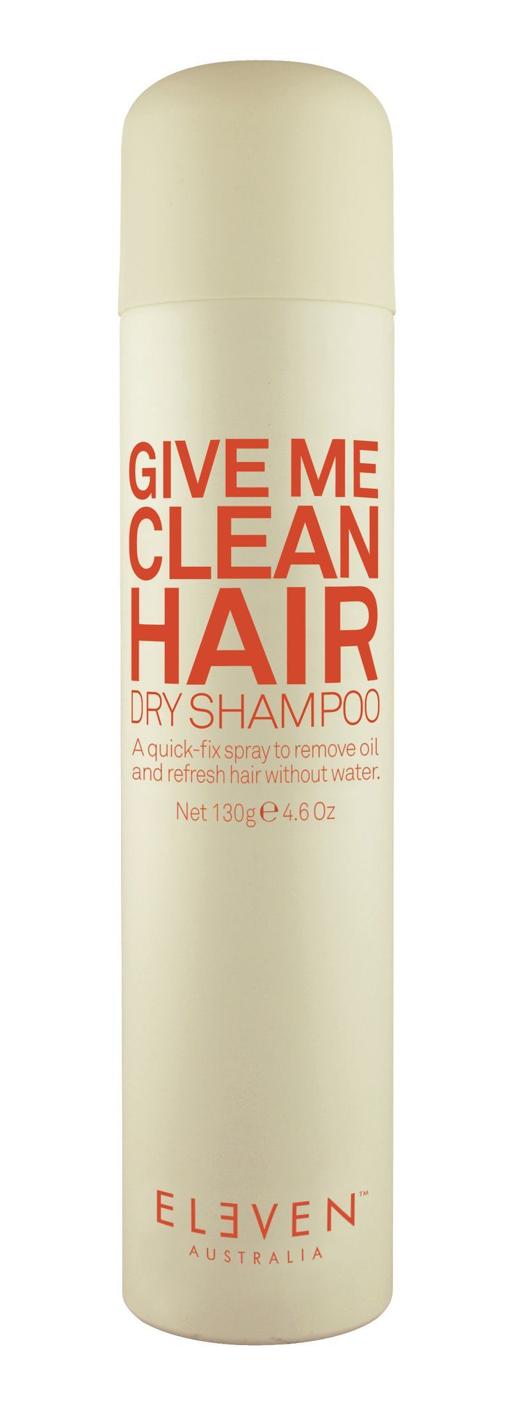 Give me clean hair dry shampoo 130g a quickfix spray to