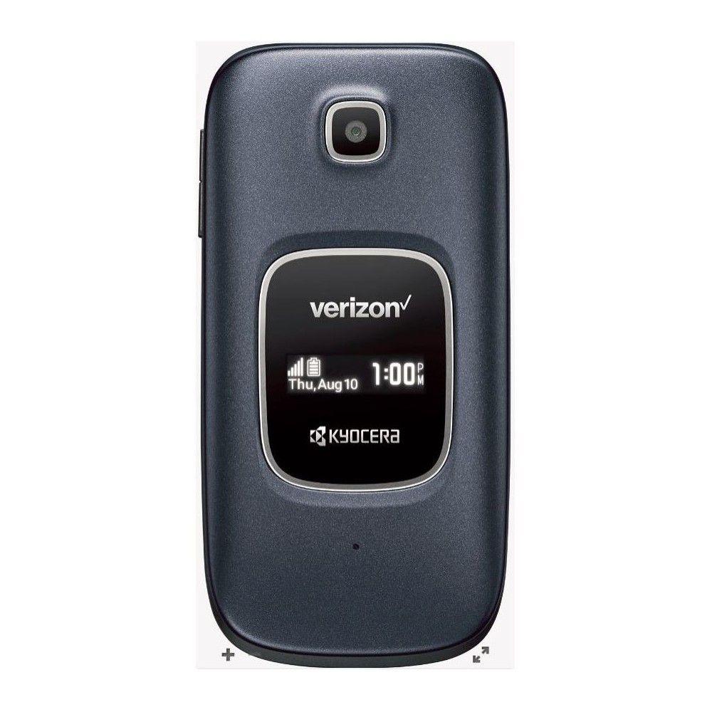 Verizon Prepaid Kyocera Cadence 16gb Cellphone Blue Kyocera