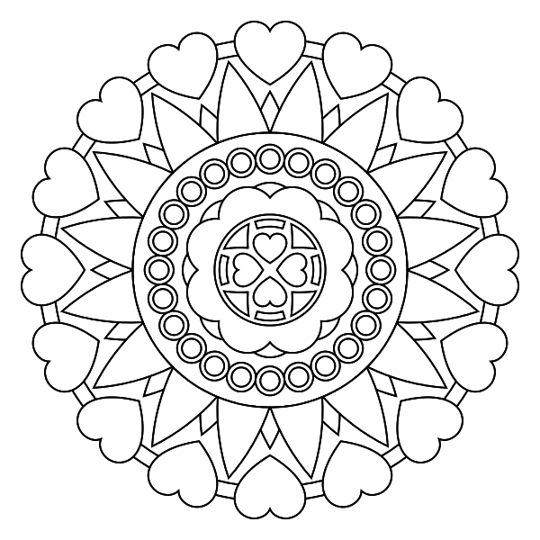 Mandala para imprimir 37 - La Guía de Mandalas | Mantras | Pinterest ...
