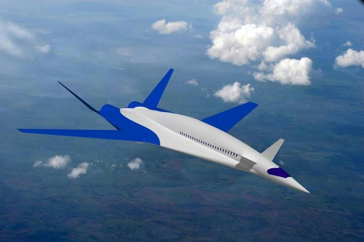 Concept for a Future Supersonic Commercial Aircraft