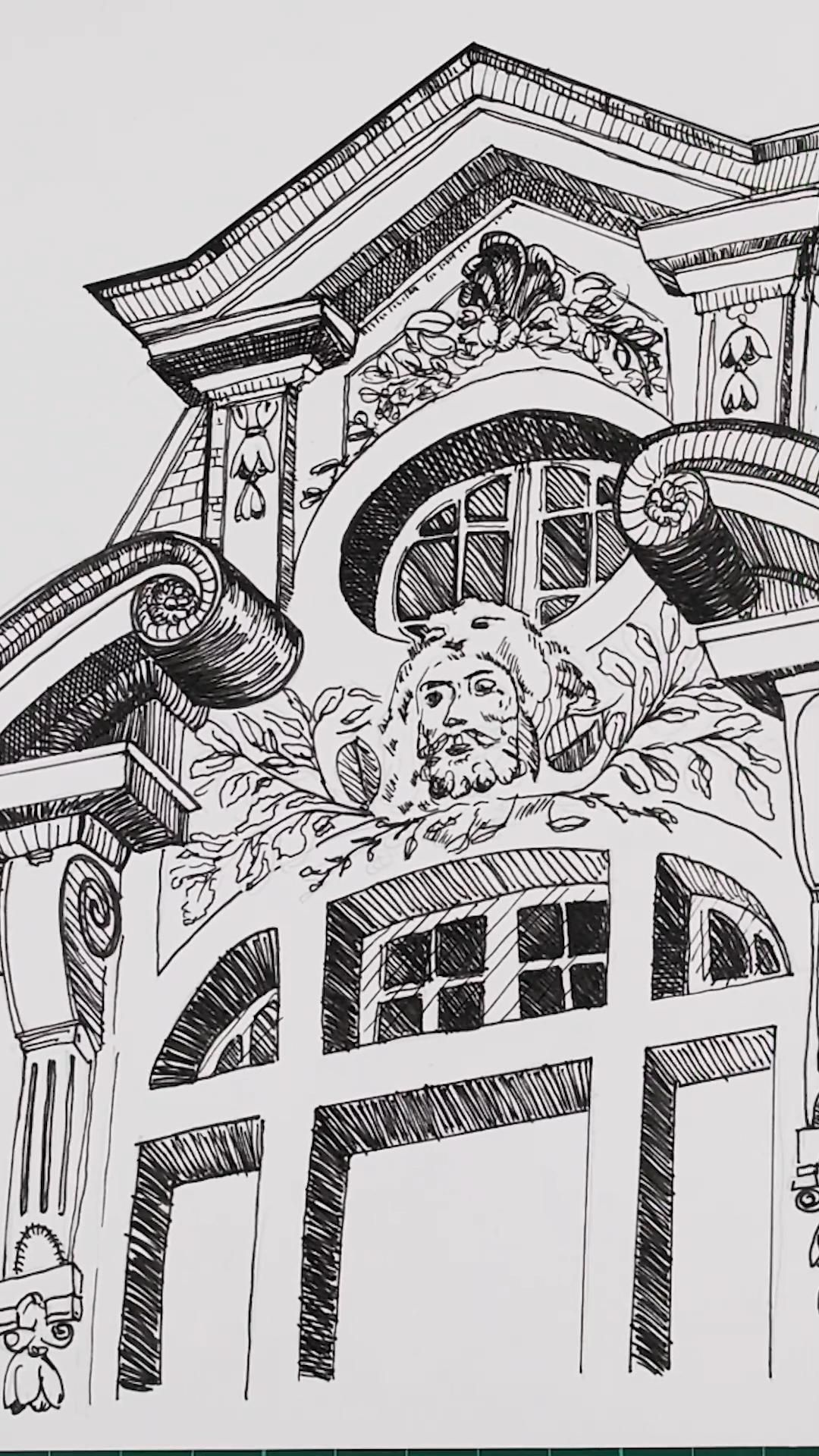 Architectural Sketching of Paris