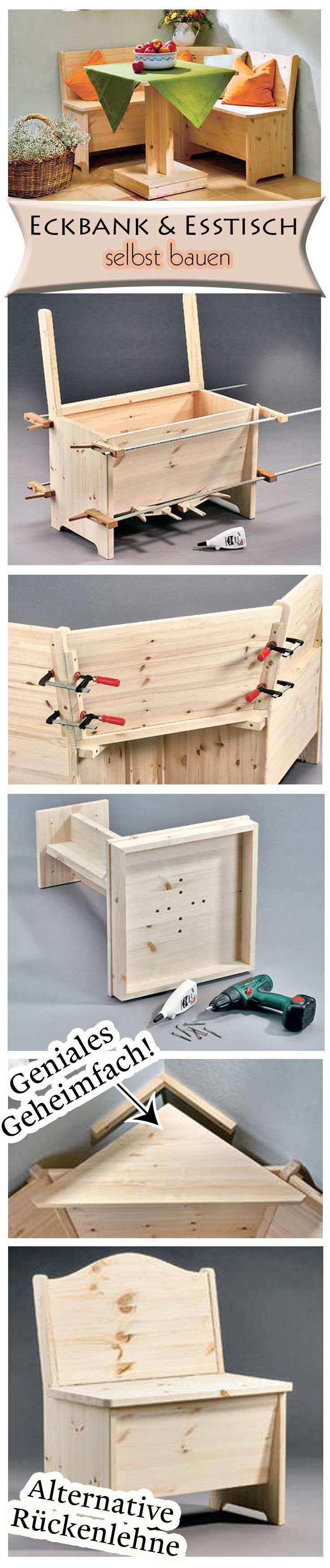 Tisch mit Mittelfuß | Woodworking, DIY furniture and Island bar