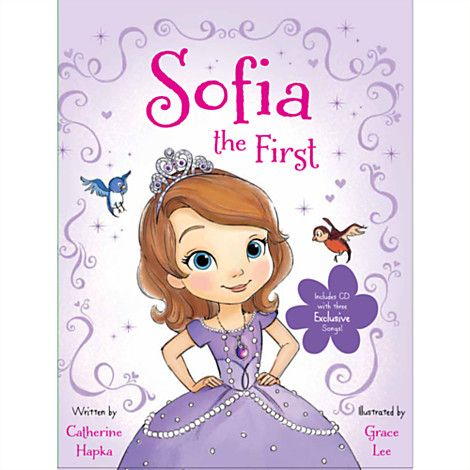 Sofia The First Book And CD At Disney Store