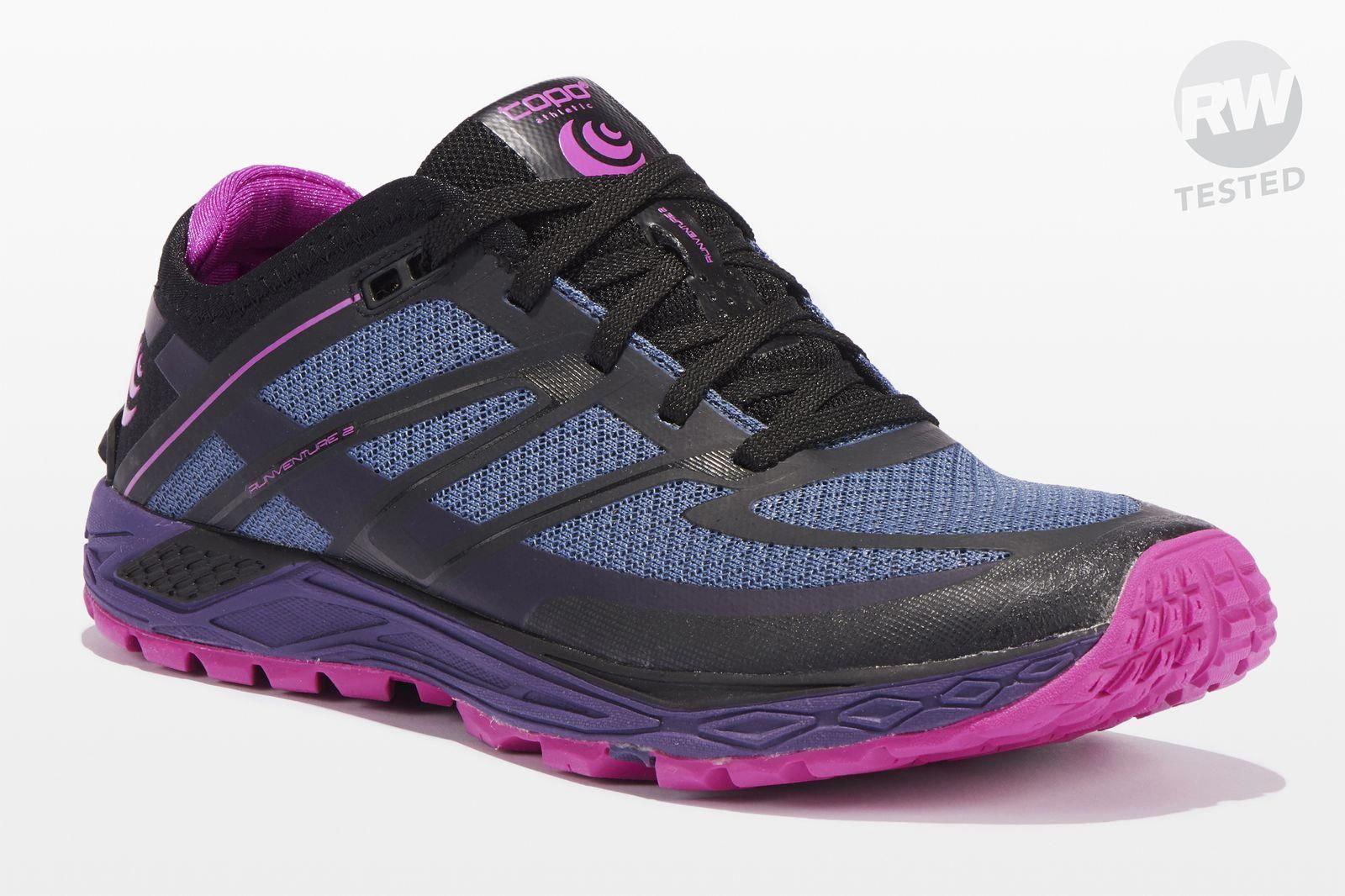Go Zero Drop On The Trails In The Topo Runventure 2 Hikeboots Best Trail Running Shoes Womens Running Shoes Trail Running Shoes