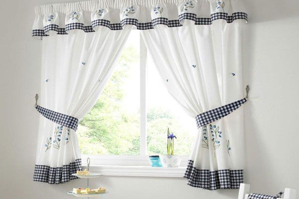 Comely Kitchen Curtain Ideas Kitchen Curtain Designs White