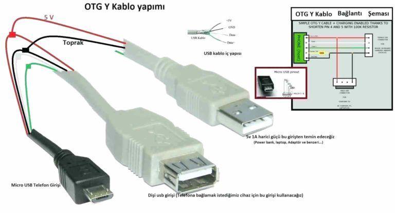 Micro Usb Wiring Diagram
