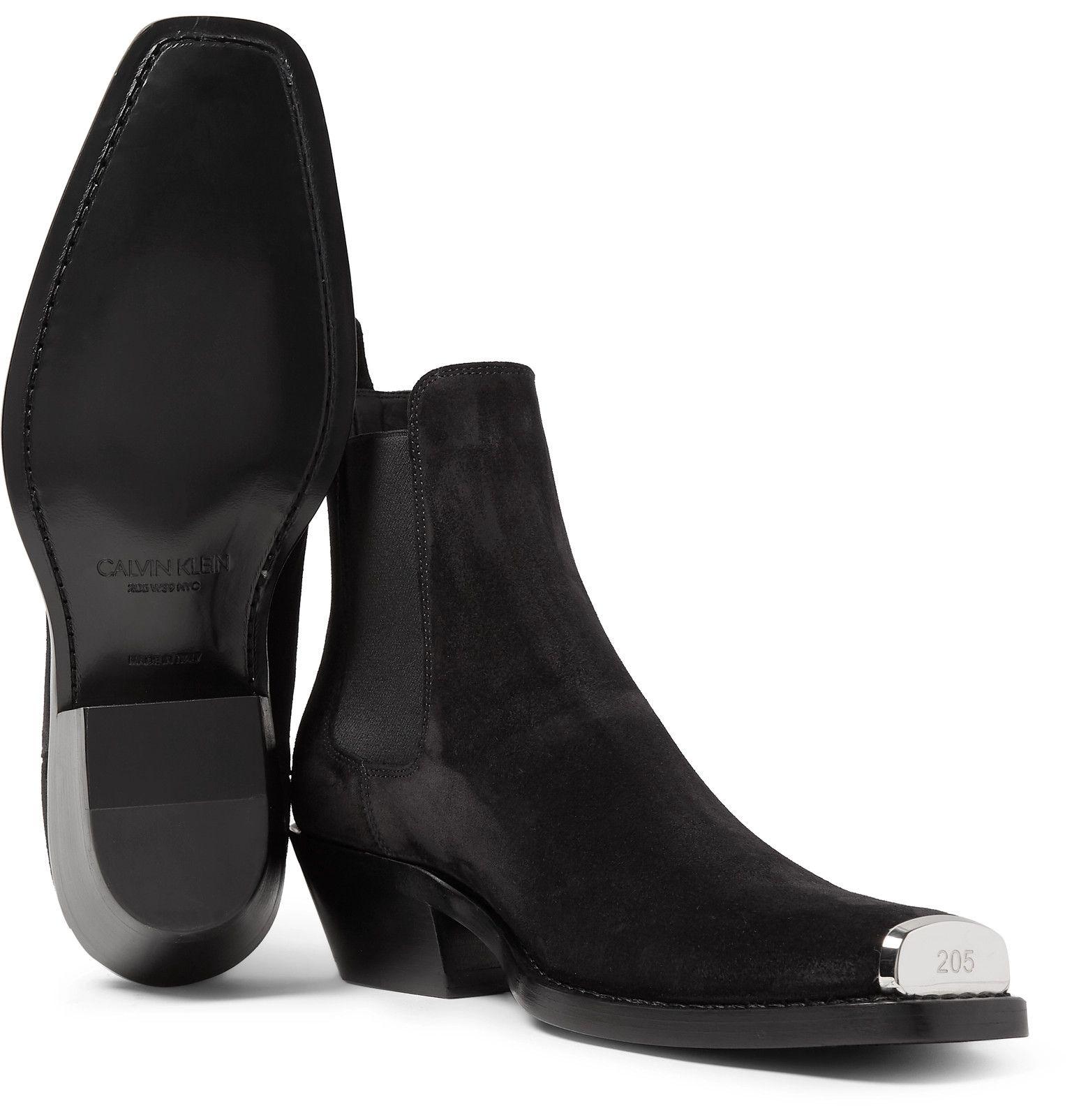 Chris Metal Toe-Cap Nubuck Boots