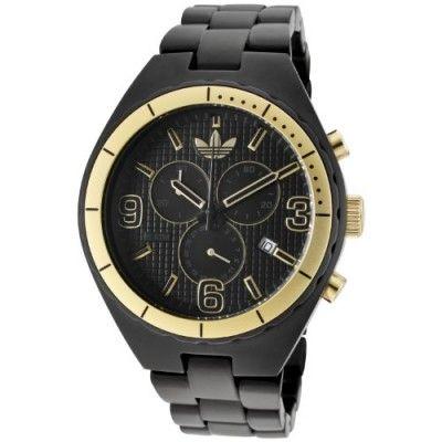 Relógio Adidas Aluminum Cambridge Chronograph Black Dial Unisex watch ADH2577 #Relogios #Adidas