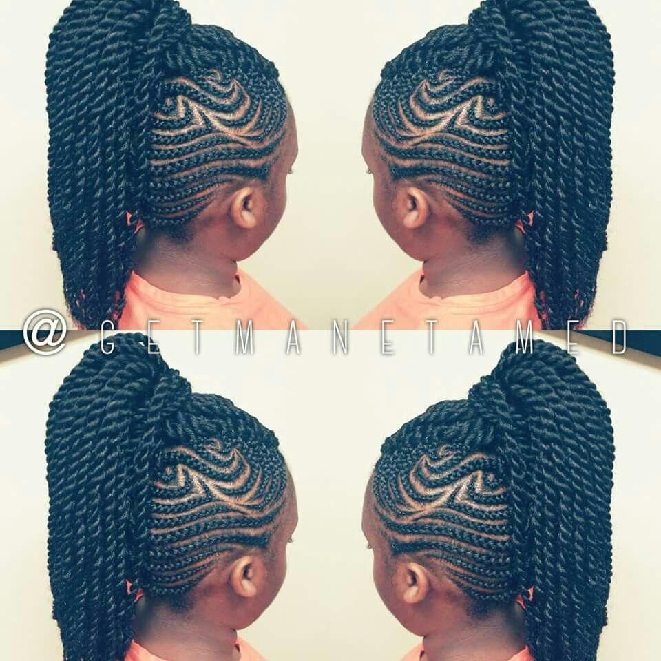 Kids braided mohawk kids braids mohawks marley twists havana
