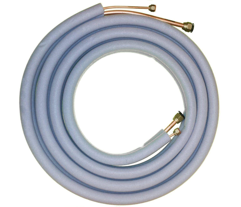 Senville Mini Split Line Set 16FT 1/4'' + 3/8 Copper tubing