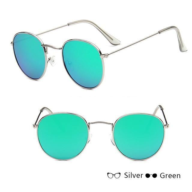 98b42c7b0c LeonLion 2018 Luxury Mirror Sunglasses Women Men Brand Designer Glasses  Lady Round Sun Glasses Street Beat Oculos De Sol Gafas