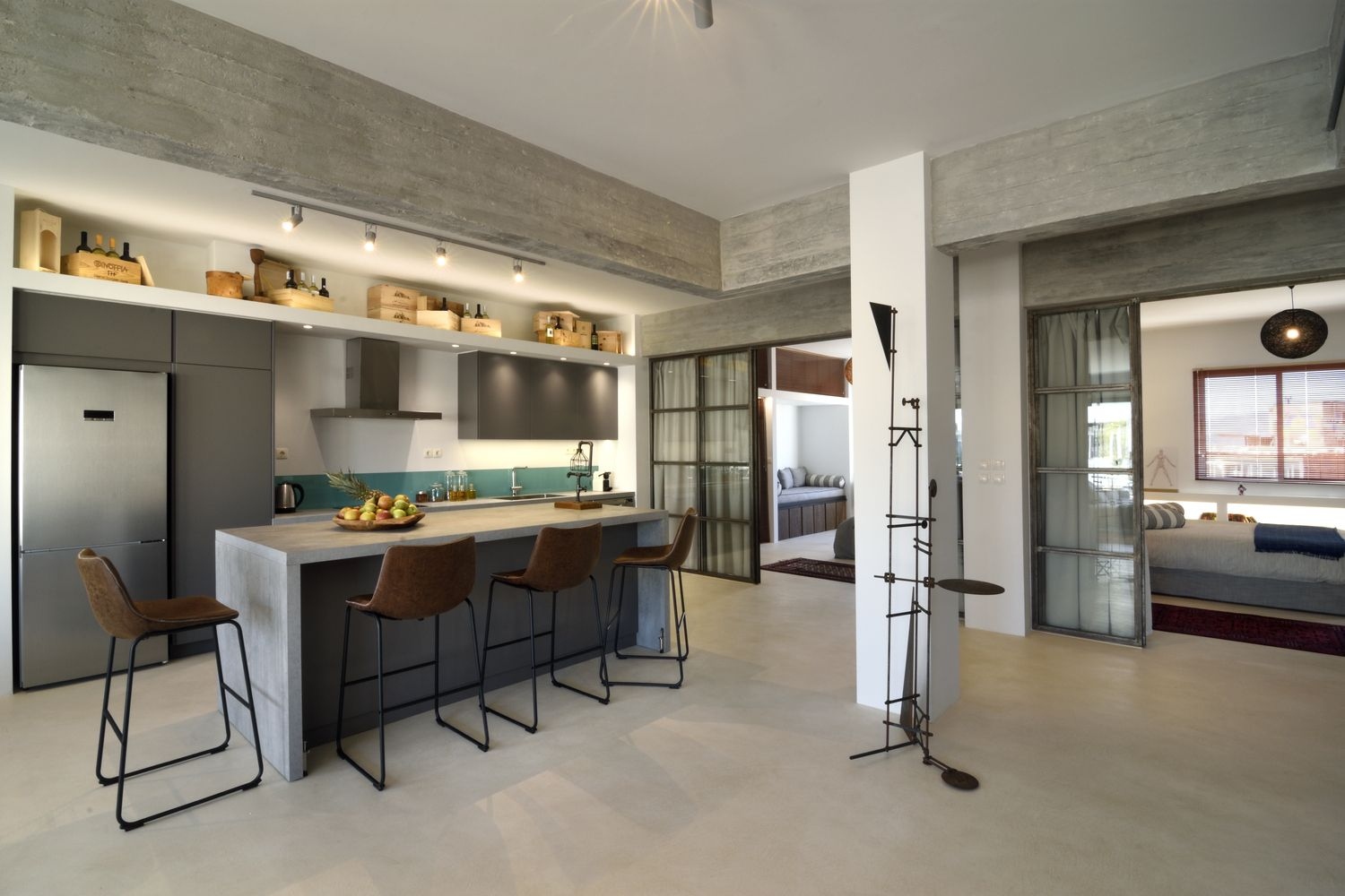 Gallery Of Industrial Loft In Athens Konstantinos Pittas 5 Industrial Loft Loft Conversion Loft