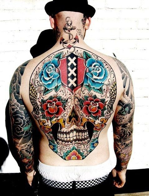 da6ee56afd Day of the dead skull tribute and more. Way cool!! A bit too big for ...