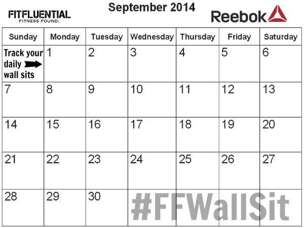 Did You Get Here Via Fitfluential Com Calendar Printables