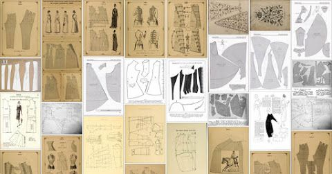 Free historical patterns, costuming and sewing tutorials, and informative articles. Follow me on Facebook  to...