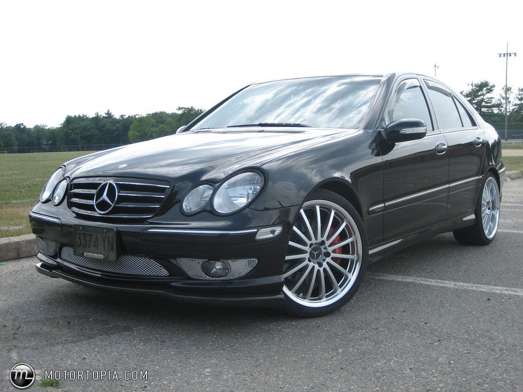 2005 Mercedes Benz C230 Kompressor Sport Find The Classic Rims Of