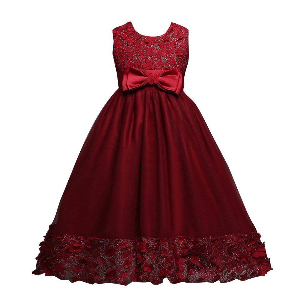 rotes kleid für kinder
