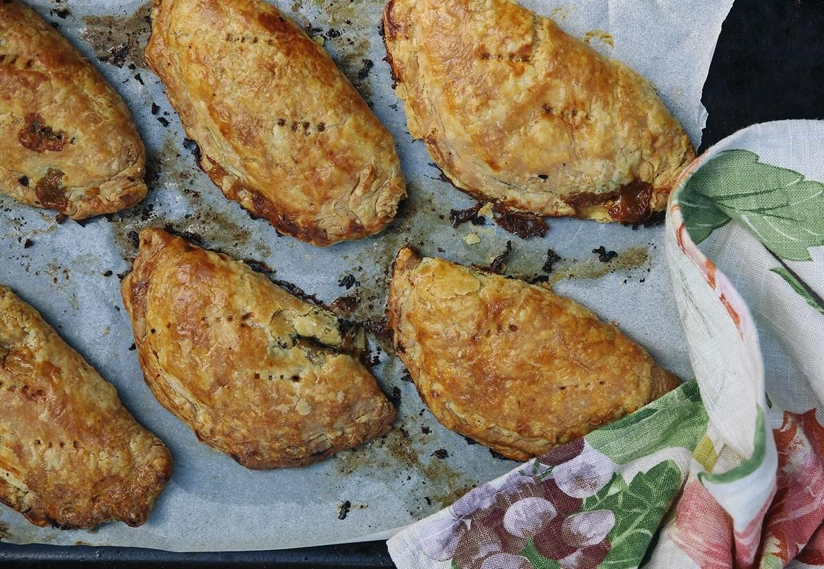 Eleanor Ozich Shares Her Cauliflower Pies Recipe With Sour Cream Pastry There Is A Sudden Burning Desire For Pie Sour Cream Recipes Sour Cream Pastry Recipes