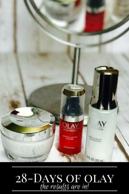 Oil of Olay 28-Days of Olay Skin Study Results. Beauty   Skin Care   MomLife #28daysofolay #ad