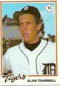 1978 Alan Trammell Toppsburger King Baseball Card From Wikipedia