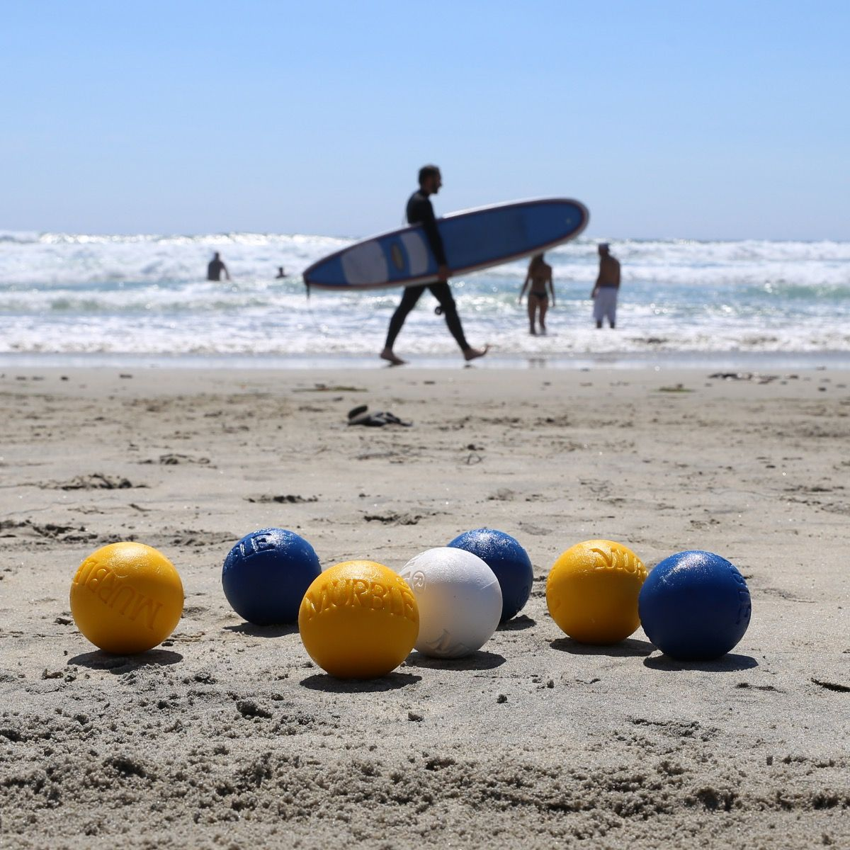 Murbles Beach Bocce Summer games, Beach games, Outdoor games