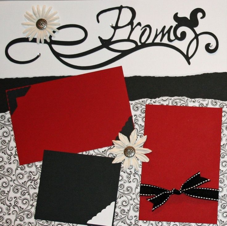 prom scrapbook layout ideas | prom scrapbook - Google Search Prom is ...
