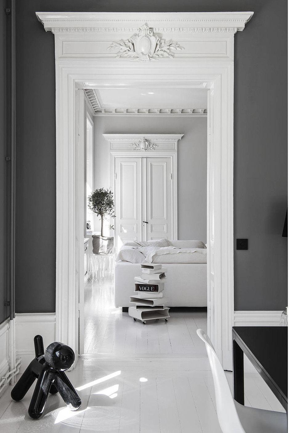 Appartement Blanc Et Noir