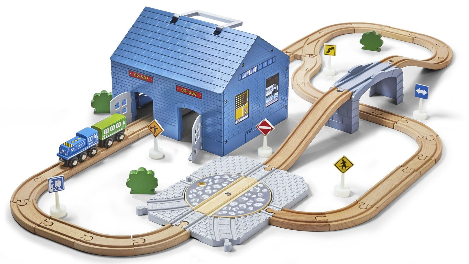 Imaginarium Express Turntable Train Set