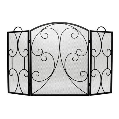 Home Decorators Collection Hearthway 3-Panel Fireplace Screen