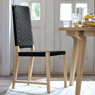 modern woven shaker chair westelm 300 for 4 on sale softer than solid modern dining