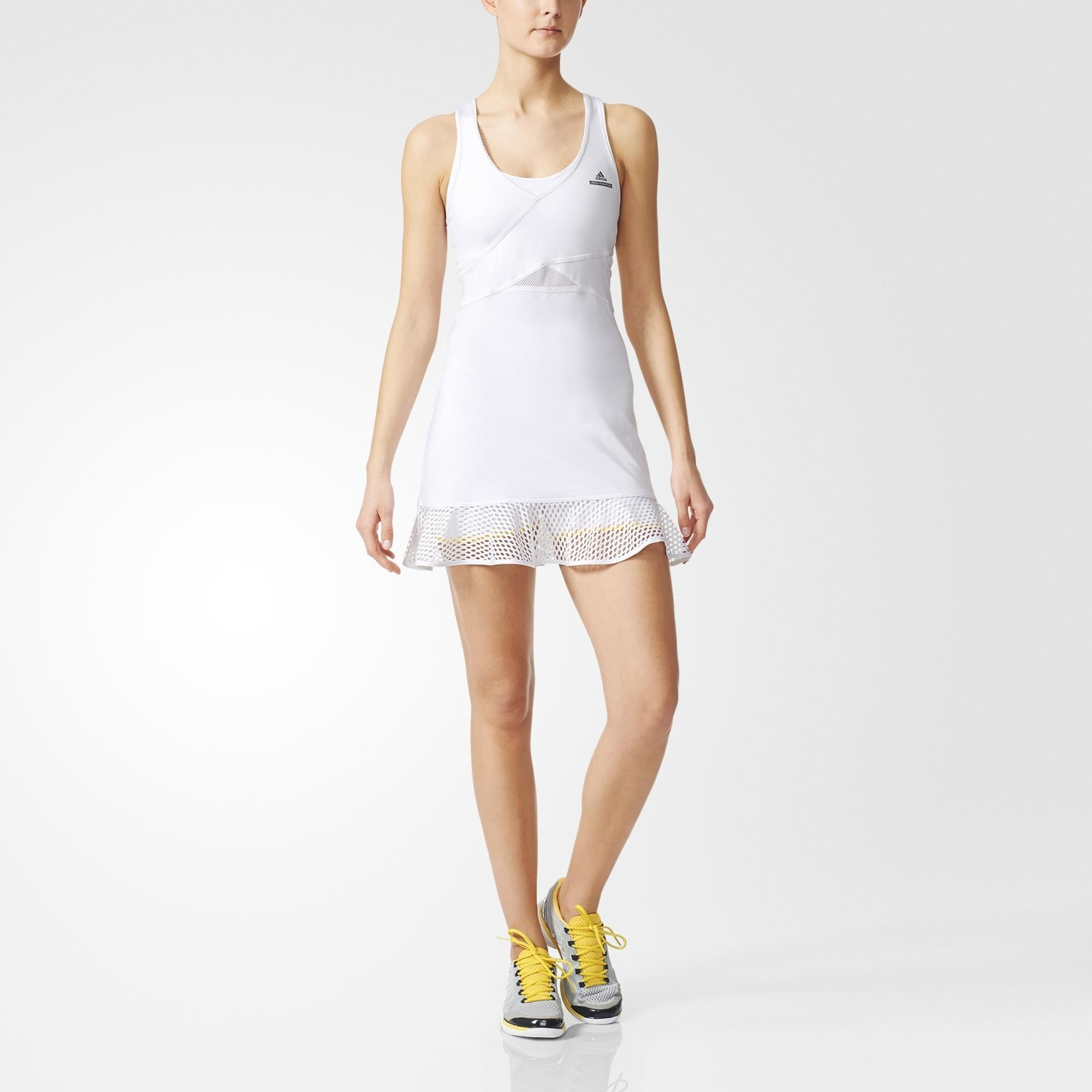 Caroline Wozniacki's Wimbledon dress! adidas Stella McCartney