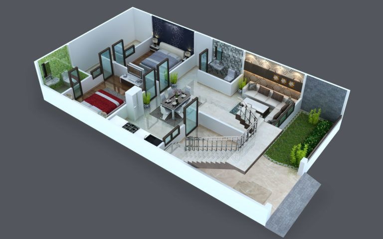 Wonderful 3d Floor Plans That Will Leave You Speechless House Extension Design House Design Pictures Bungalow House Design