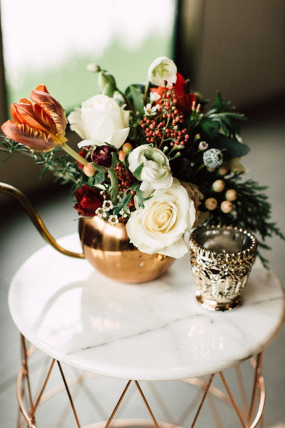 Superior Winter Cocktail Party Ideas Part - 12: Winter Cocktail Party Florals | Wedding U0026 Party Ideas | 100 Layer Cake