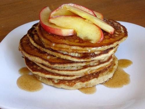 Яблочные оладьи - вкуснейший ПП- перекус или полноценный фитнес - завтрак.