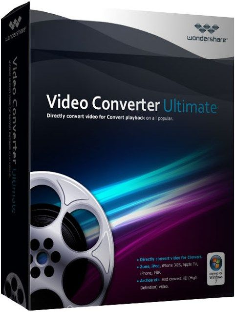 Wondershare Video Converter Ultimate V8 With Key Free Download You