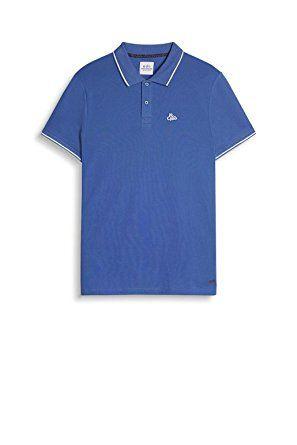 wholesale dealer 1bae9 703ab edc by ESPRIT Herren Poloshirt 047CC2K068, Blau (Navy 3 402 ...