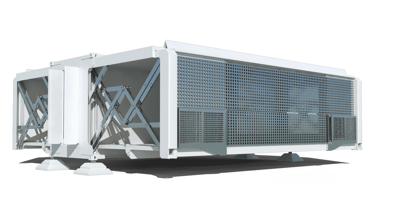 TEN FOLD develops ready to use movable buildings and