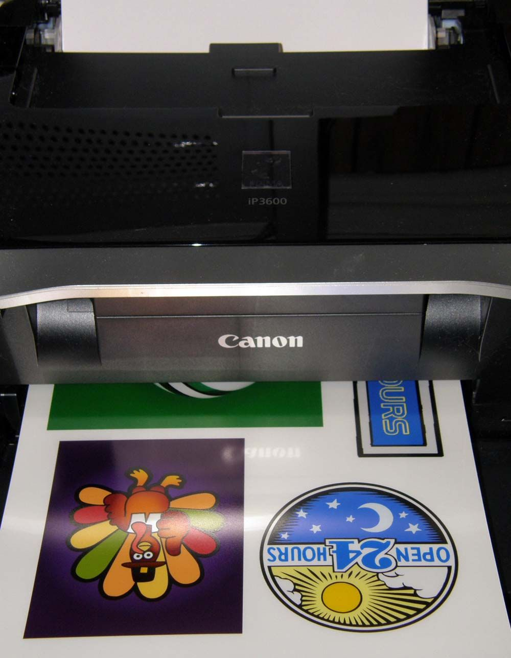 Static Cling Window Decals for Inkjet Printers Clear or
