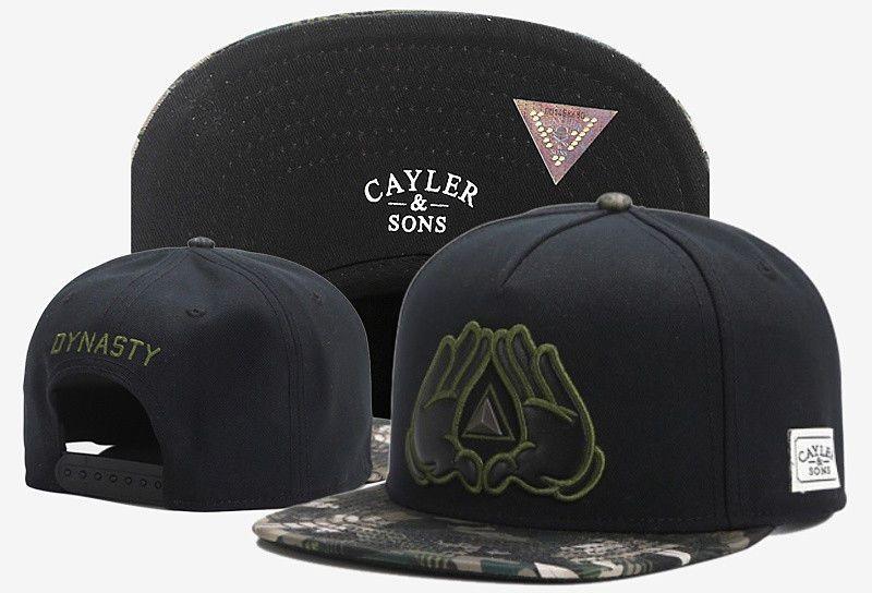 Hip Hop Men s Cayler Sons Cap Adjustable Baseball Snapback Street Black Hat  32  ebay  Fashion cf0351be9fd2