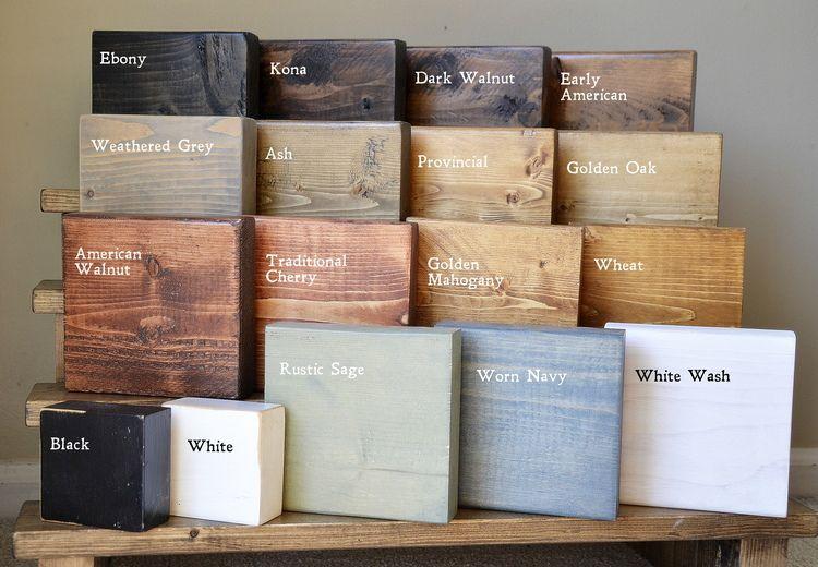 Everyday Stain Samples Wood Floor Stain Colors Floor