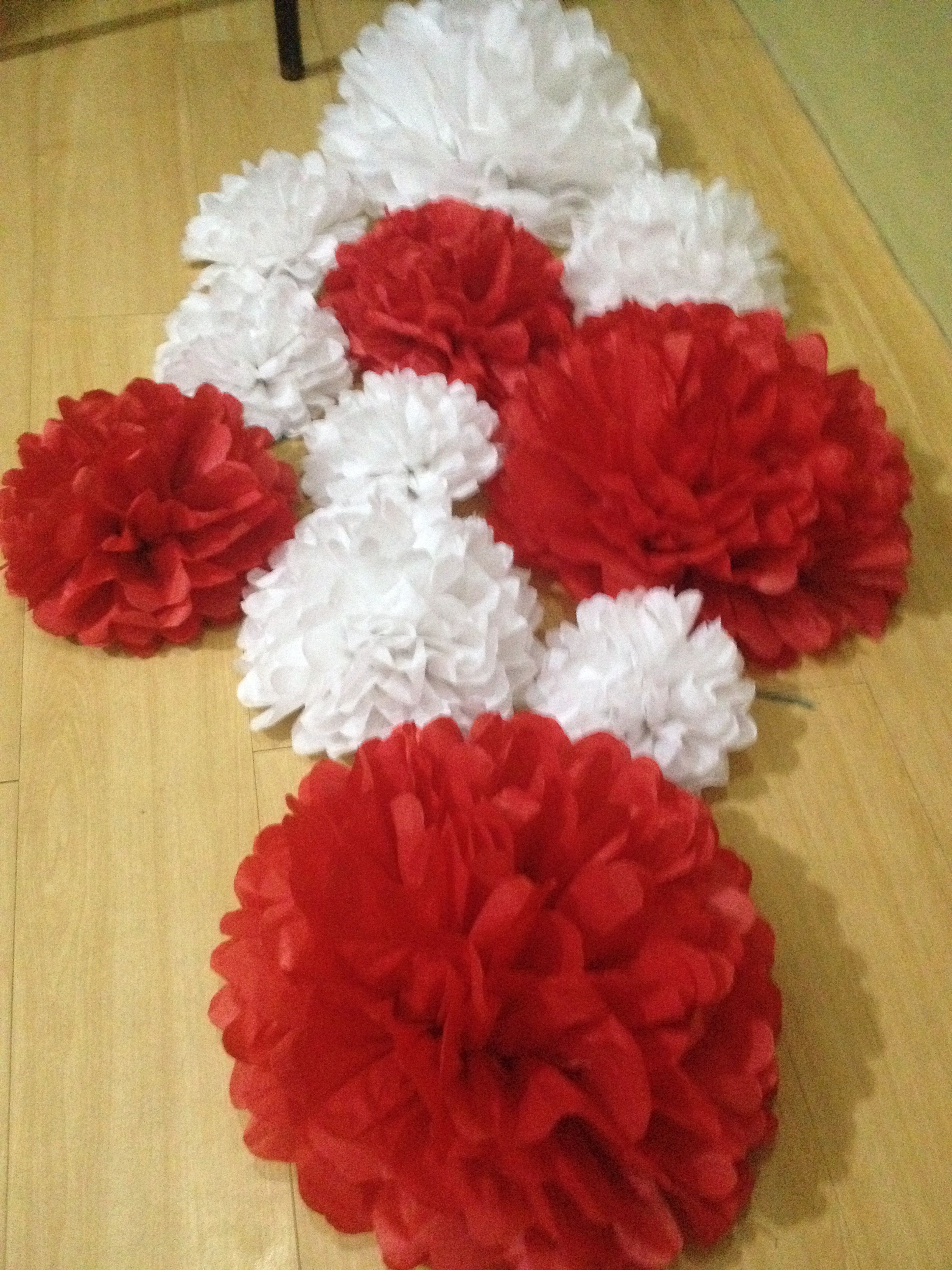 Diy Paper Flowers Large Paper Flowers Tissue Paper Flowers White