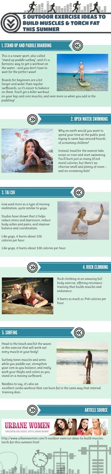 Health & nutrition tips: 5 Outdoor Exercise Ideas