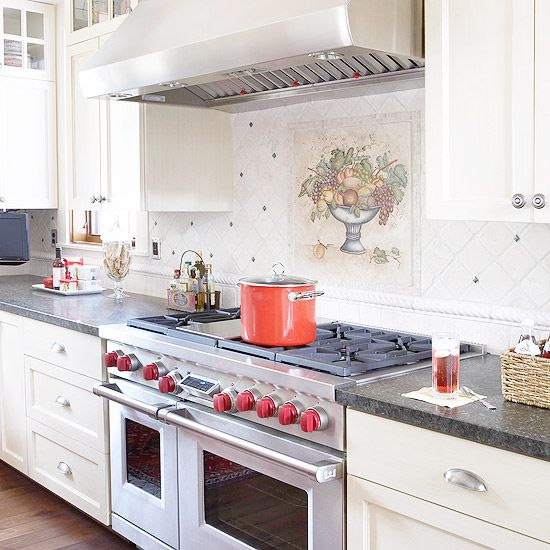 Kitchen Backsplash Ideas A Splattering Of The Most: Stylish Backsplash Pairings
