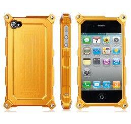 Capa Metal para iPhone 4/4S (Gold)