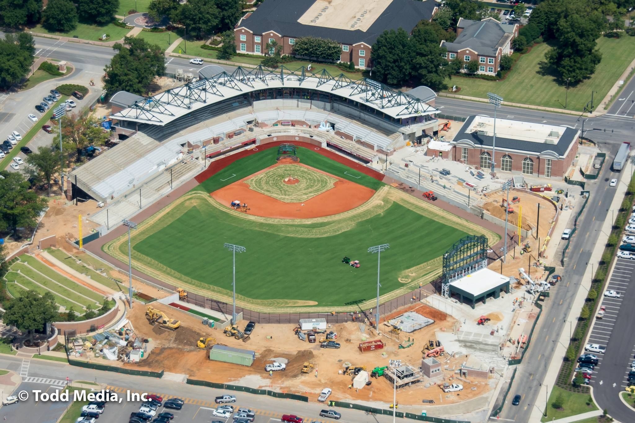 Sewell thomas stadium at the university of alabama being remodeled