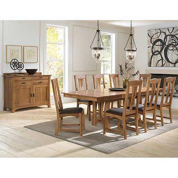 Annora 10 Piece Dining Set Dining Room Design Dining Set Dining