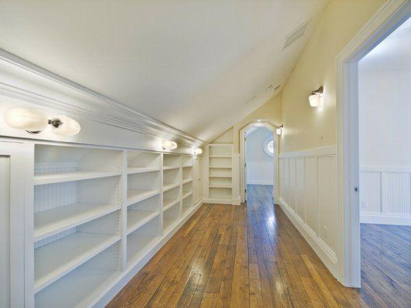Begehbarer kleiderschrank selber bauen dachschräge  Begehbarer Kleiderschrank Dachschräge - Tolle Tipps zum ...