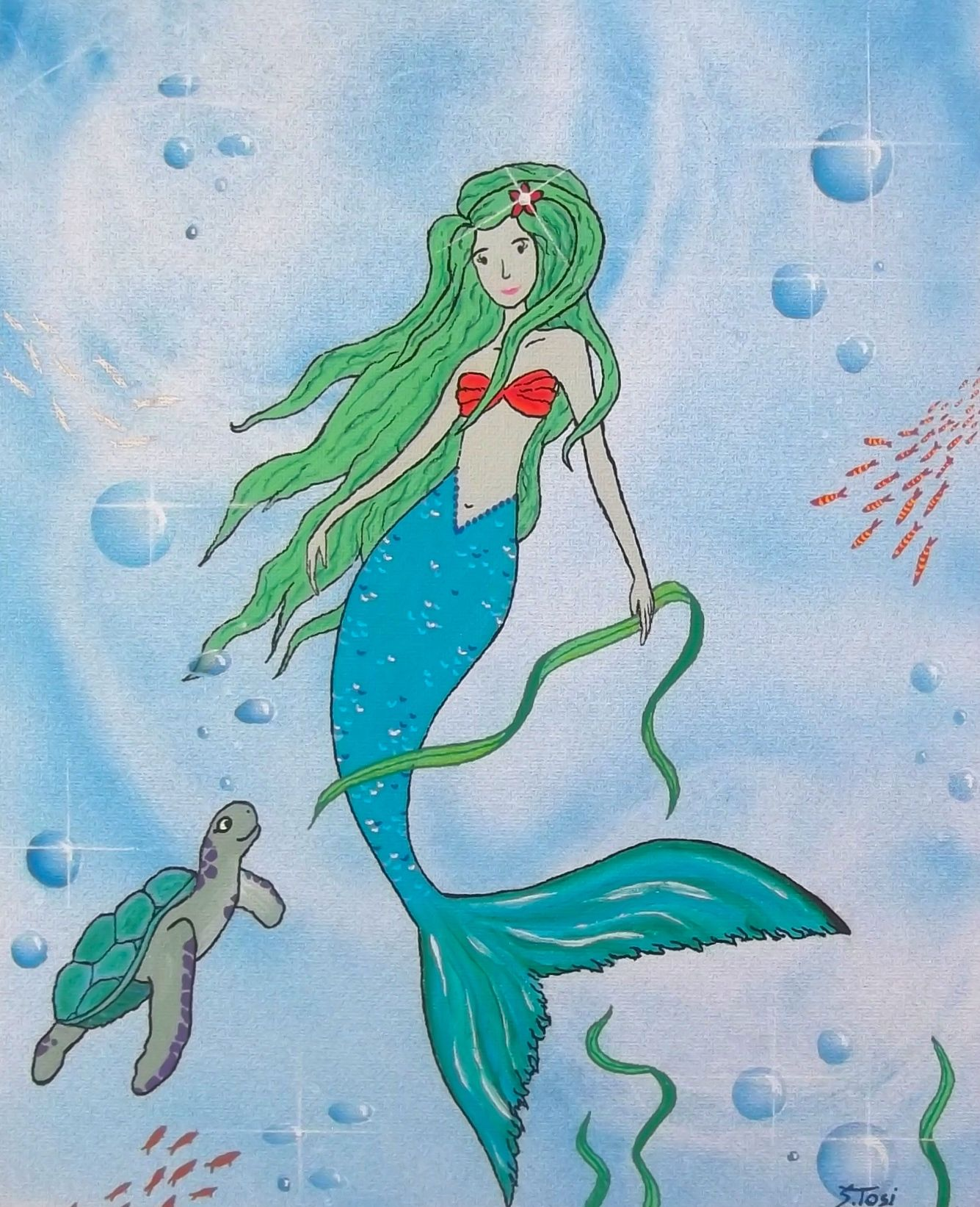 """Kleine Meerjungfrau """"Aquaria"""""""
